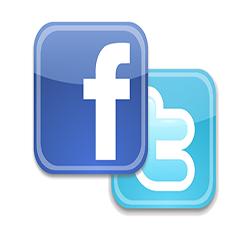 Facebook и Twitte влияют на запросы